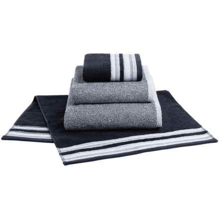 Bambeco Studio Mix Hand Towel - Organic Cotton in Indigo - Closeouts