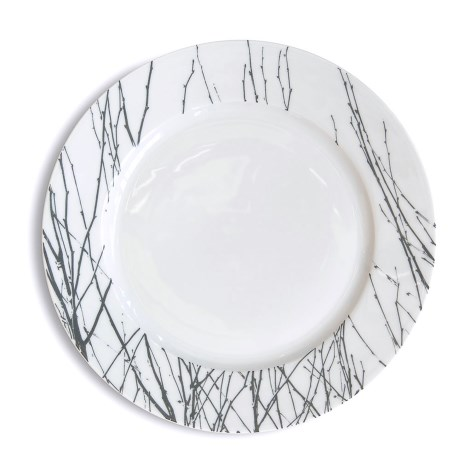 Bambeco Twigg Porcelain Dinner Plate in See Photo