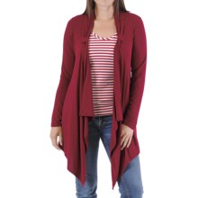 Bamboo Dreams® by Yala Lucy Wrap - Long Sleeve (For Women) in Scarlet - Closeouts
