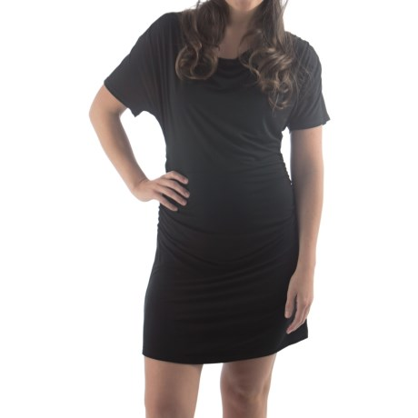 Bamboo Dreams® by Yala Piper Dress - Short Sleeve (For Women) in Black