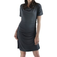 Bamboo Dreams® by Yala Piper Dress - Short Sleeve (For Women) in Slate - Closeouts