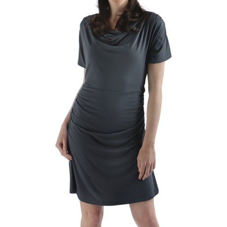 Bamboo Dreams® by Yala Piper Dress - Short Sleeve (For Women) in Black