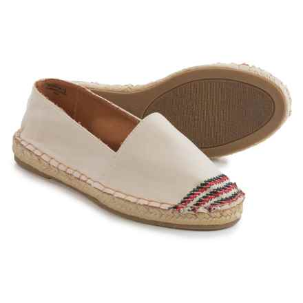 Bamboo Maldives Canvas Espadrilles (For Women) in Beige - Closeouts
