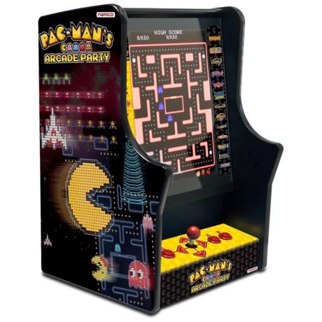 Bandai Namco Pac-Man Arcade Party Game - Bar Top in See Photo