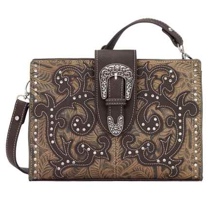 Bandana by American West Laramie Shoulder Bag/Clutch (For Women) in Sage - Closeouts