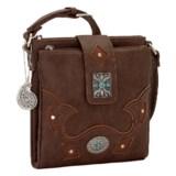 Bandana by American West Lexington Organized Crossbody Bag (For Women)