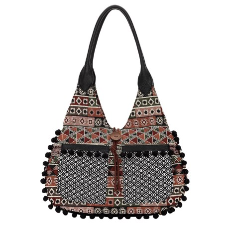 Image of Bandana by American West Tulum Scoop Top Tote Bag (For Women)