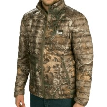 Banded Agassiz Goose Down Jacket - 800 Fill Power (For Men) in Realtree Xtra - Closeouts