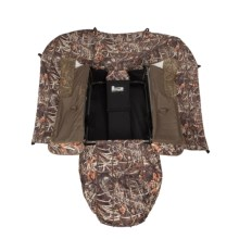 Banded Cross Cut Layout Ground Blind in Realtree Max4 - Closeouts