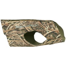 Banded Dog Parka - 3mm Neoprene in Mossy Oak Shadow Grass Blades - Closeouts