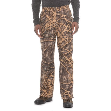 Banded Shadow Grass Rainwater Pants - Waterproof (For Men) in Shadow Grass