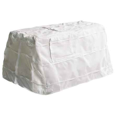 Banded Snow Cover - Dog Blind in White - Closeouts