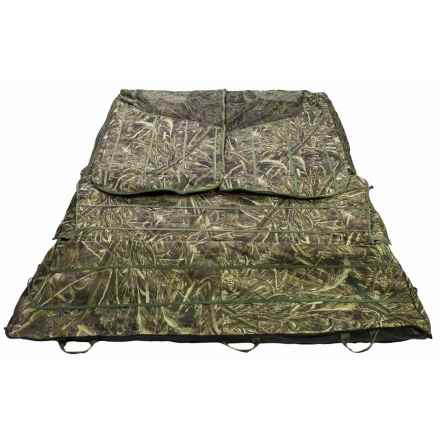 Banded Two-Man Layout Ground Blind in Real Tree Max5 - Closeouts