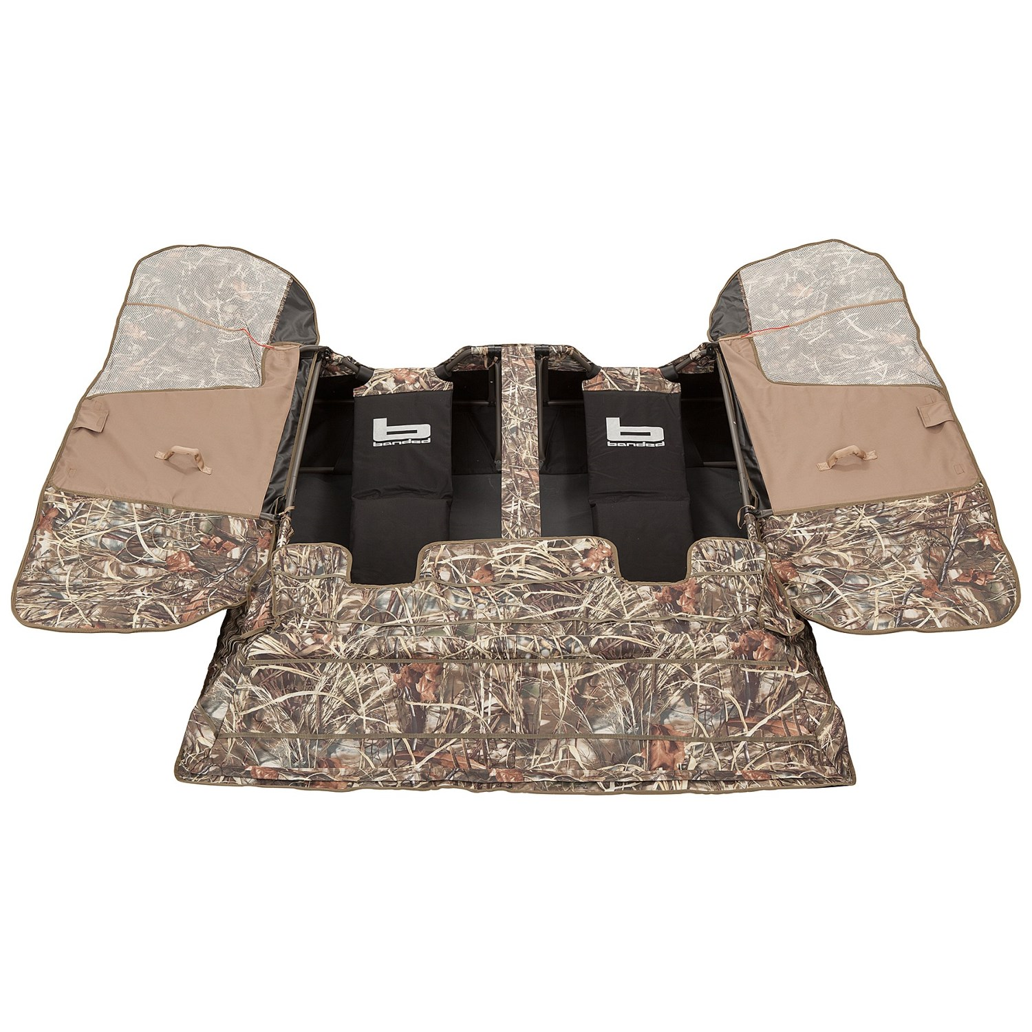field hunting easy of full and set hub camouflage blind wide for window up person through pop ground blinds windows durability size style view shoot