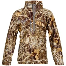 Banded UFS Fleece Jacket - Insulated, Zip Neck (For Men) in Realtree Max4 - Closeouts