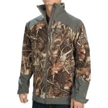 Banded Utility Soft Shell Jacket - Waterproof (For Men) in Realtree Max4 - Closeouts