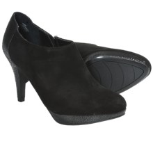Bandolino Cardinal Ankle Booties - Leather (For Women) in Black Combo - Closeouts