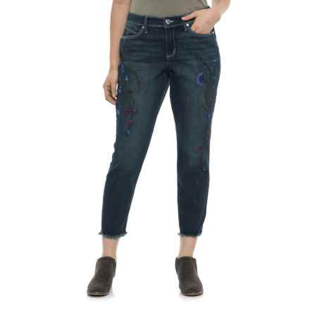 Bandolino Lisbeth Curvy Crop Skinny Jeans (For Women) in Almeda - Closeouts