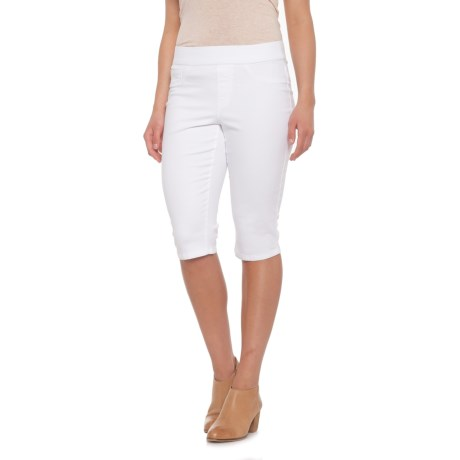 Bandolino Thea Skimmer Shorts (For Women) in White