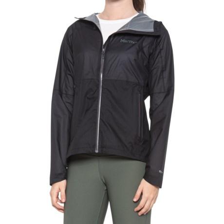 Bantamweight Pertex(R) Shield Jacket - Waterproof (For Women) - BLACK (L )