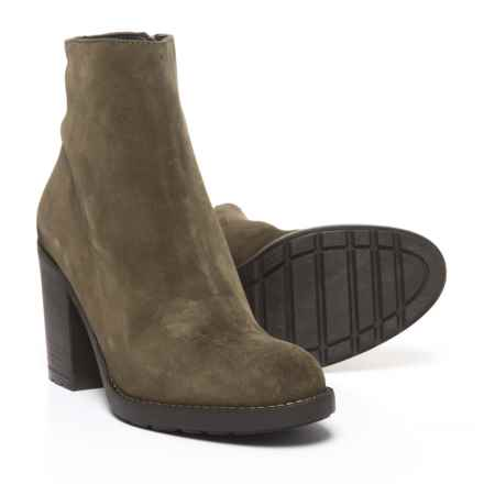 Barbara Barbieri Suede Booties (For Women) in Olive - Closeouts