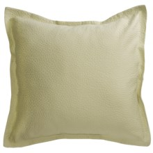 Barbara Barry Cloud Nine Pillow Sham - Euro, Cotton Matelasse in Aloe - Closeouts