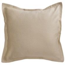 Barbara Barry Cloud Nine Pillow Sham - Euro, Cotton Matelasse in Powder - Closeouts