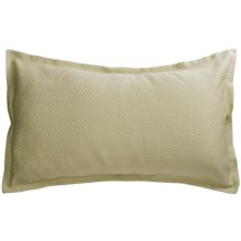 Barbara Barry Cloud Nine Pillow Sham - Queen, Cotton Matelasse in Aloe - Closeouts