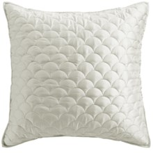 Barbara Barry Crescent Moon Collection Pillow Sham - Euro in Ivory - Closeouts