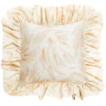 """Barbara Barry Dream Caprice Accent Pillow - 16x16"""", 250 TC Cotton Sateen in Caprice - Closeouts"""