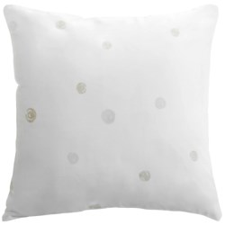 "Barbara Barry Dream Nautilus Printed Accent Pillow - 16x16"", 300 TC Cotton in Nautilus"