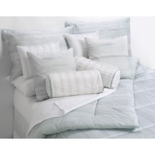 "Barbara Barry Dream Watertint Boudoir Toss Down Pillow - 12x16"" in White - Closeouts"