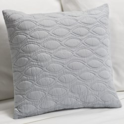 "Barbara Barry Fanfare Toss Pillow - 16x16"" in Deep Periwinkle"