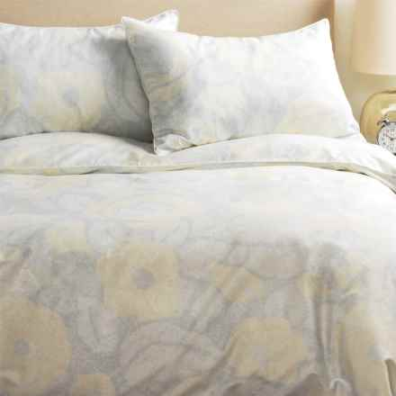 Barbara Barry Forties Floral Duvet Set - Queen in Niagara - Closeouts