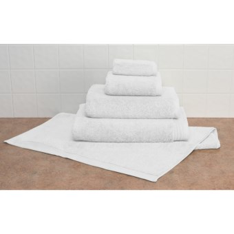 Barbara Barry Indulgence Hand Towel - 750gsm, Egyptian Cotton in White