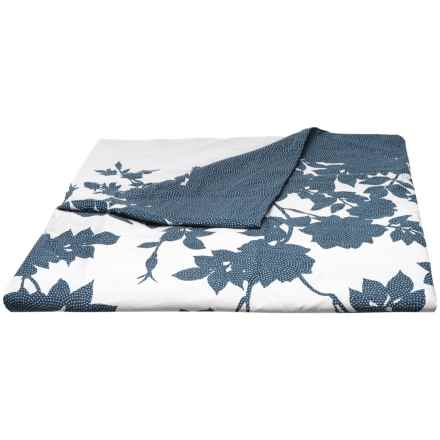 Barbara Barry Kimono Duvet Cover - Full-Queen in Indigo - Closeouts