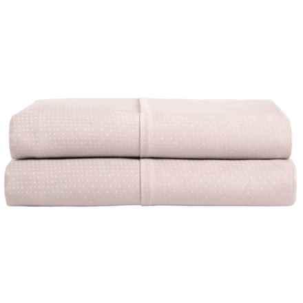 Barbara Barry Perfect Pindot Pillowcases - King, 300 TC, Set of 2 in Petal - Closeouts