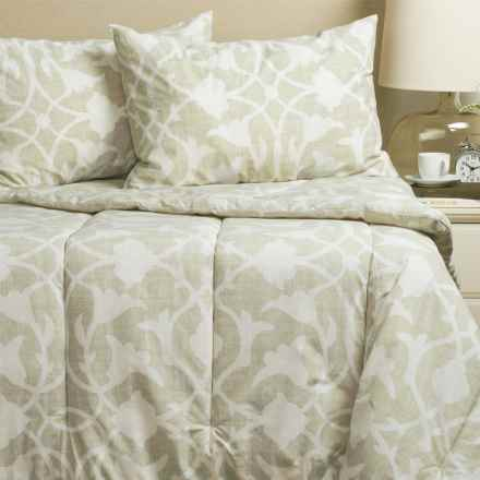 Barbara Barry Poetical Comforter Set - Queen in Natural - Closeouts