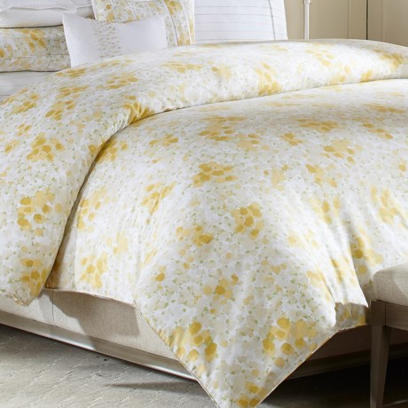 Barbara Barry Provence Cotton Duvet Cover Full/Queen