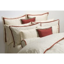 Barbara Barry Silhouette Jacquard Pillow Sham - Queen, 320 TC in Silver Birch - Closeouts