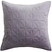 Barbara Barry Starburst Glint Pillow Sham - Euro in Horizon - Closeouts