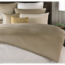 Barbara Barry Strand Duvet Cover - Cotton Jacquard, King in Mica - Closeouts