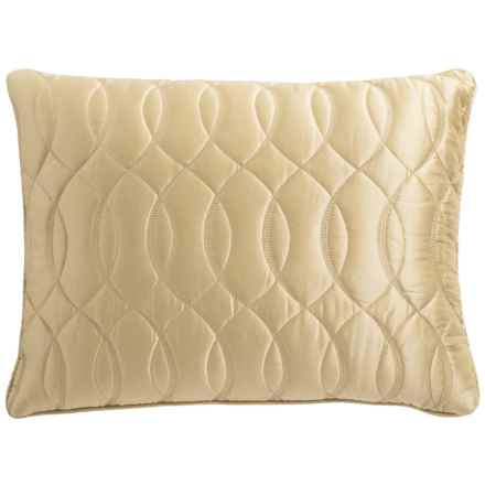 Barbara Barry Sublime Throw Pillow - Silk-Cotton in Champagne - Closeouts