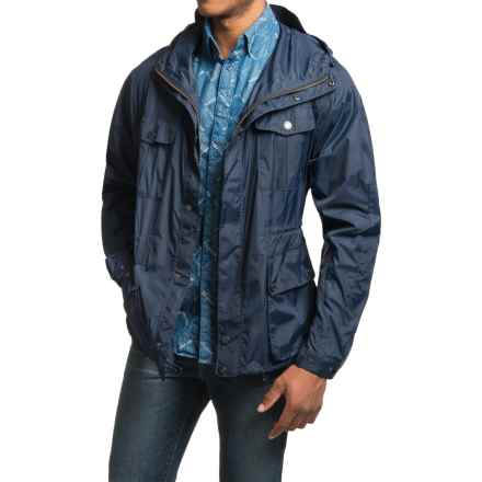 Barbour Aetna Jacket (For Men) in Navy - Closeouts