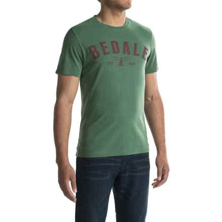 Barbour Affiliate T-Shirt - Short Sleeve (For Men) in Racing - Closeouts