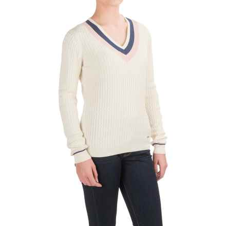 Barbour Alasdiar Sweater (For Women) in Cream - Closeouts