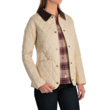 Barbour Annandale Diamond-Quilted Jacket (For Women) in Dark Pearl - Closeouts