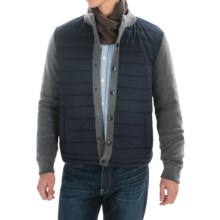 Barbour Bale Baffle Jacket (For Men) in Mid Grey - Closeouts
