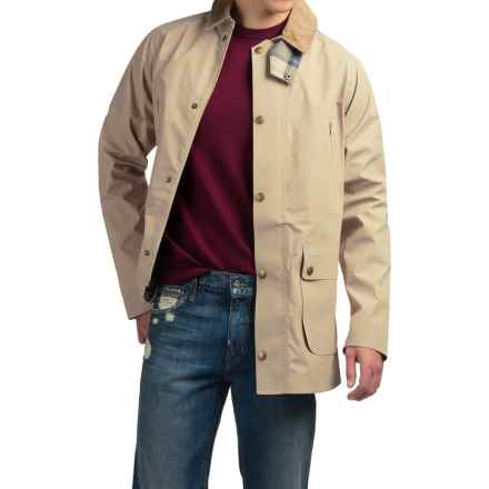 Barbour Bankside Jacket - Waterproof (For Men) in Stone - Closeouts