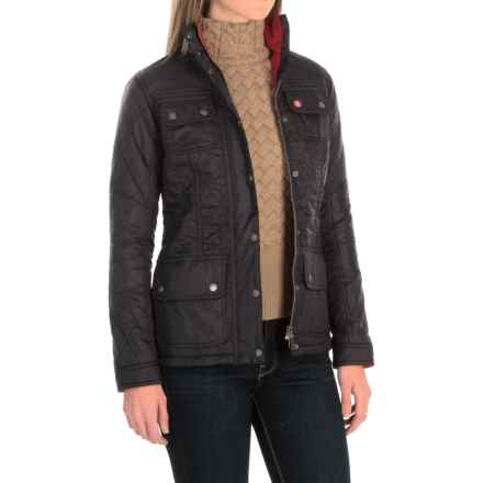 Barbour Bartlett Quilted Jacket - Insulated (For Women) in Navy - Closeouts